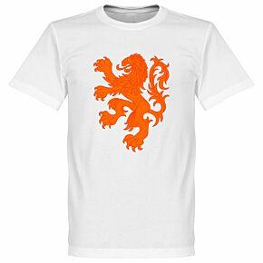 Holland Lion Tee - White