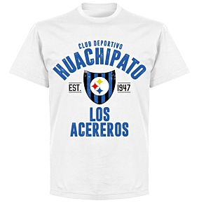 Huachipato Established T-Shirt - White