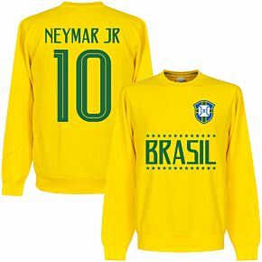 Brasil Neymar Jr 10 Team Sweatshirt - Yellow