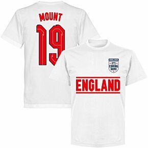 England Mount 19 Team KIDS T-shirt - White