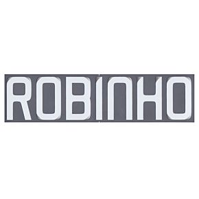 Robinho (Name Only) - 08-09 Real Madrid Away Official Name Transfer
