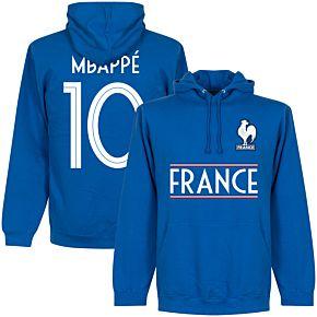France Mbappe 10 Team Hoodie  - Royal