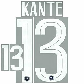 Kanté 13 (Official Printing) - 20-21 France Home