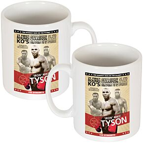 Mike Tyson Poster Mug