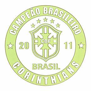 Campeão Brasileiro Patch 2011 (Corinthians)