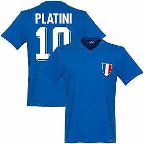 1968 France Olympics Retro Shirt + Platini 10