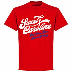 Sweet Caroline T-shirt - Red