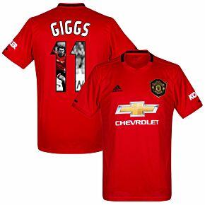 adidas Man Utd Home Giggs 11 Jersey 2019-2020 (Gallery Style Printing)