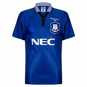 1995 Everton Home Retro Shirt FA Cup Final