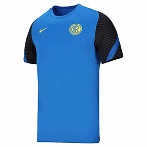 20-21 Inter Milan Strike Breathe Shirt - Blue/Black