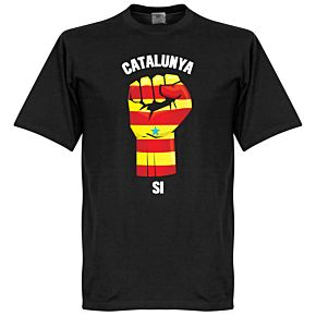 Catalunya Fist Tee - Black