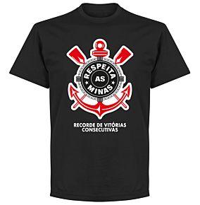 Corinthians Minas Tee - Black
