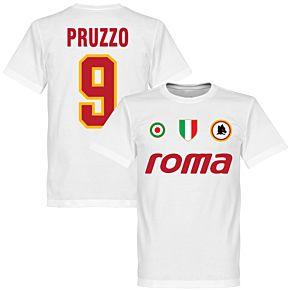 Roma Vintage Pruzzo 9 Team T-Shirt - White