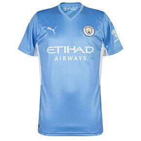 21-22 Man City Home Shirt - Kids