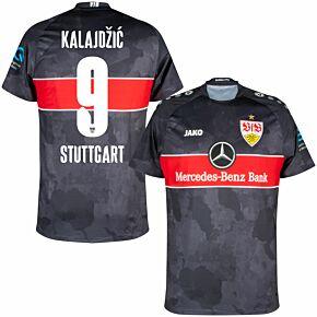 21-22 VfB Stuttgart 3rd Shirt + Kalajdzic 9 (Official Printing)