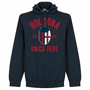 Bologna Established Hoodie - Navy
