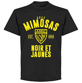 ASEC Mimosas Established T-shirt - Black