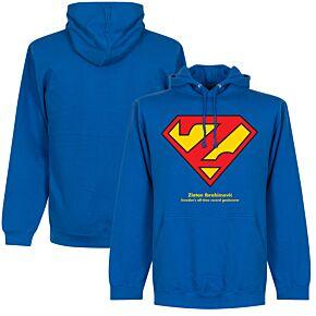 Zlatan Superman KIDS Hoodie - Royal