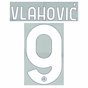 Vlahović 9 (Official Printing) - 21-22 Fiorentina Home