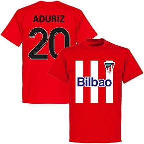 Bilbao Aduriz 20 Team T-shirt - Red