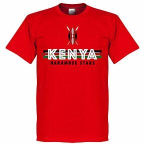 Kenya Team Tee - Red