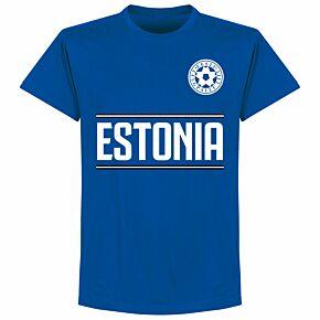 Estonia Team T-Shirt - Royal