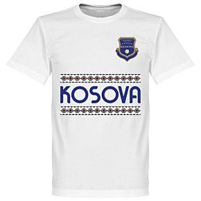 Kosovo Team Tee - White