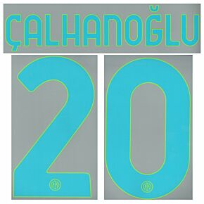 Çalhanoglu 20 (Official Printing) - 21-22 Inter Milan 3rd