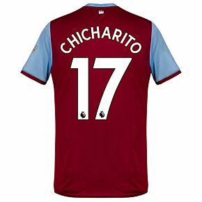 Umbro West Ham Home Chicharito 17 Jersey 2019-2020