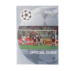 1998 Champions League Quarter- and Semi- Finals Official Guide