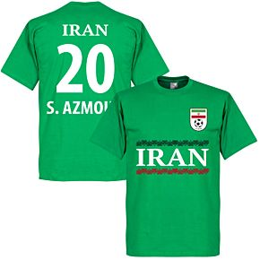 Iran S. Azmoun 20 Team Tee - Green