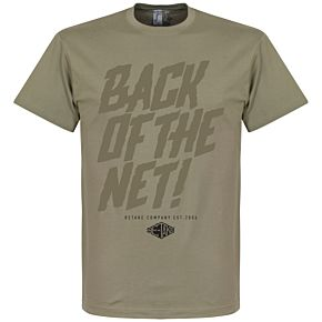 Retake Back of the Net! Tee - khaki