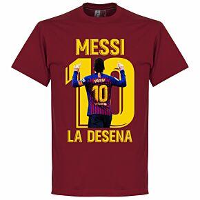 Messi La Desena Tee - Chilli Red