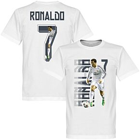 Ronaldo 7 Gallery KIDS Tee - White