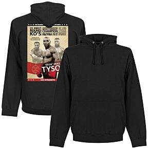 Mike Tyson Poster Hoodie - Black