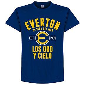 Everton de Chile Established Tee - Ultramarine