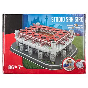AC Milan San Siro 3D Stadium Puzzle (New Version)