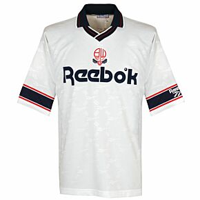 Reebok Bolton Wanderers 1993-1995 Home Shirt - USED Condition (Great) - Size L