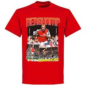 Bergkamp Old Skool T-shirt - Red