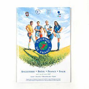 1997 Tournoi de France Official Programme