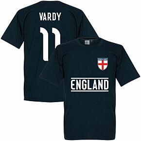 England Vardy Team Tee - Navy