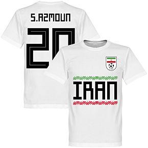 Iran Azmoun 20 Team Tee - White