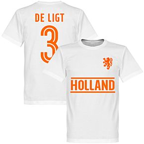 Holland De Ligt Team T-Shirt - White