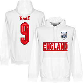 England Kane 9 Team KIDS Hoodie - White