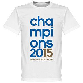 Champions 2015 Tee - White