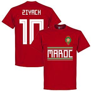 Morocco Ziyach 10 Team Tee - Red