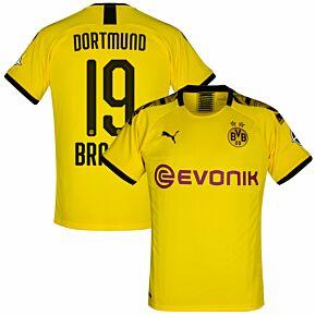 Puma Borussia Dortmund Home Brandt 19 Jersey 2019-2020