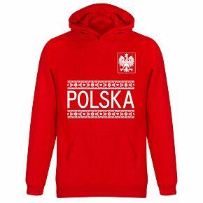 Poland Team KIDS Hoodie - Red