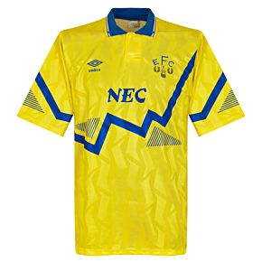 Umbro Everton 1990-1992 Away Jersey - USED Condition (Good) - Size Large