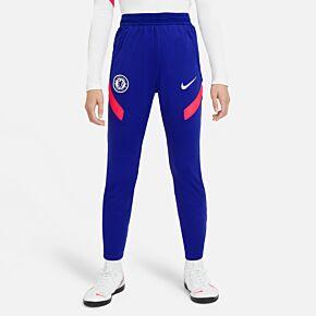20-21 Chelsea Strike Track Pants - Royal - Kids